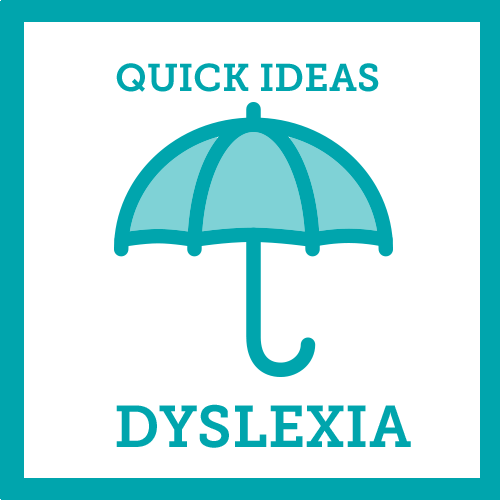 Quick Ideas Dyslexia icon