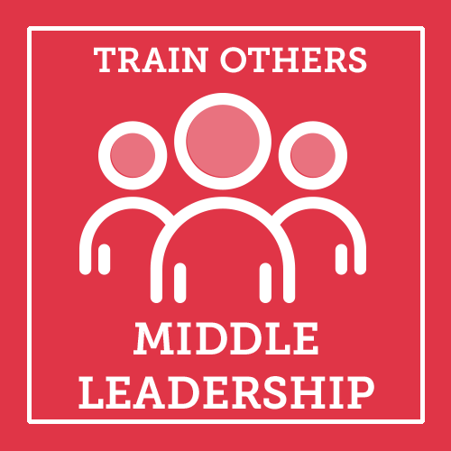 Train Others Middle Leadership